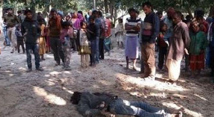मुजफ्फरपुर में अपराधियों का तांडव