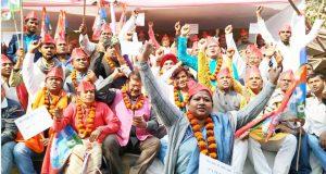 वीआईपी नेताओं ने शुरू की अनशन